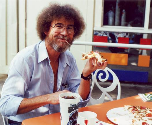 Bob-Ross pizza